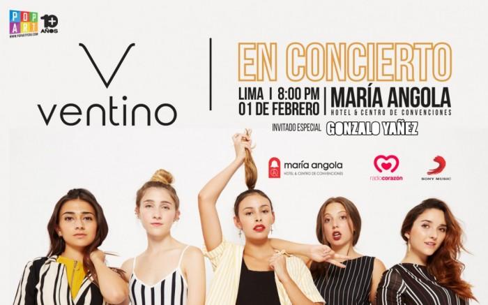 VENTINO en Lima /  / Joinnus