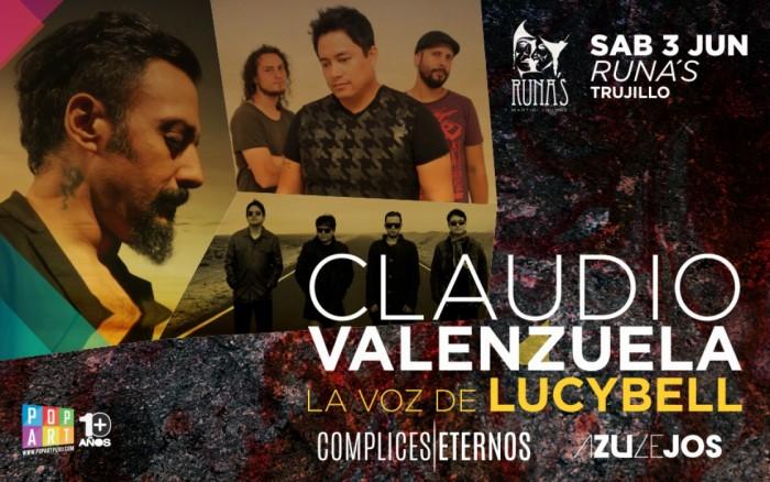 Claudio Valenzuela (LUCYBELL) en Trujillo /  / Joinnus