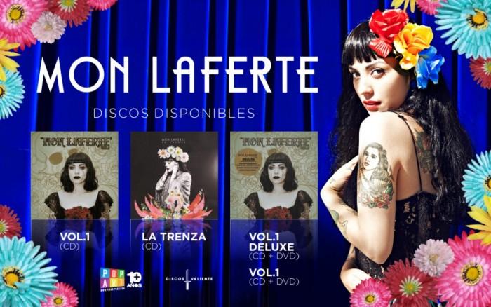 MON LAFERTE - VENTA DE DISCOS /  / Joinnus