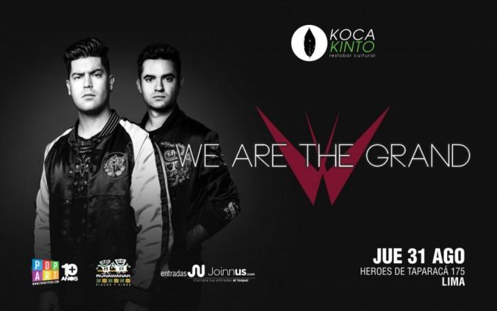 WE ARE THE GRAND en Koca Kinto (Lima) /  / Joinnus