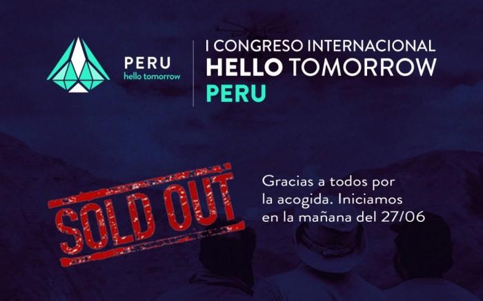 1er Congreso Internacional Hello Tomorrow Perú /  / Joinnus