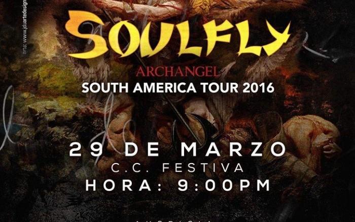 Soulfly en Lima