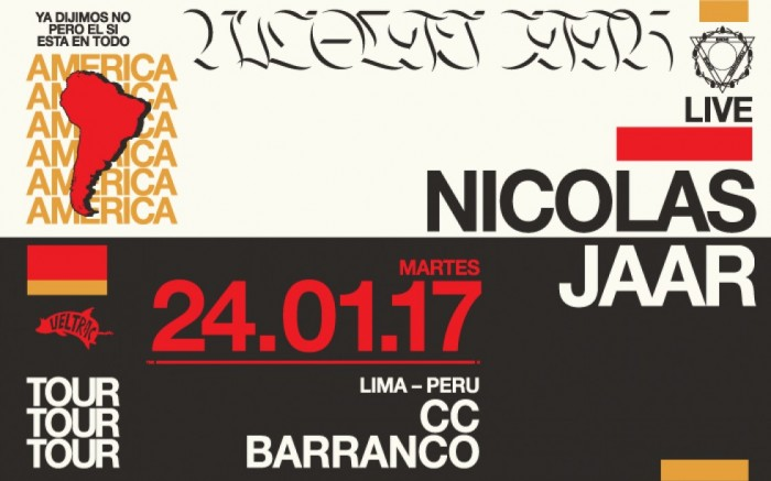 Nicolas Jaar en Lima /  / Joinnus