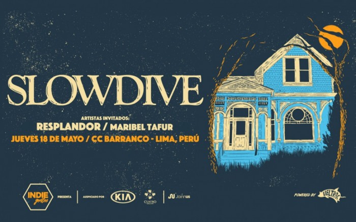 IndieGentes presenta: Slowdive en Lima /  / Joinnus