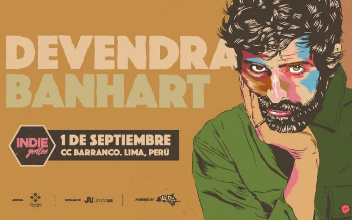 IndieGentes presenta: Devendra Banhart en Lima / Entretenimiento / Joinnus
