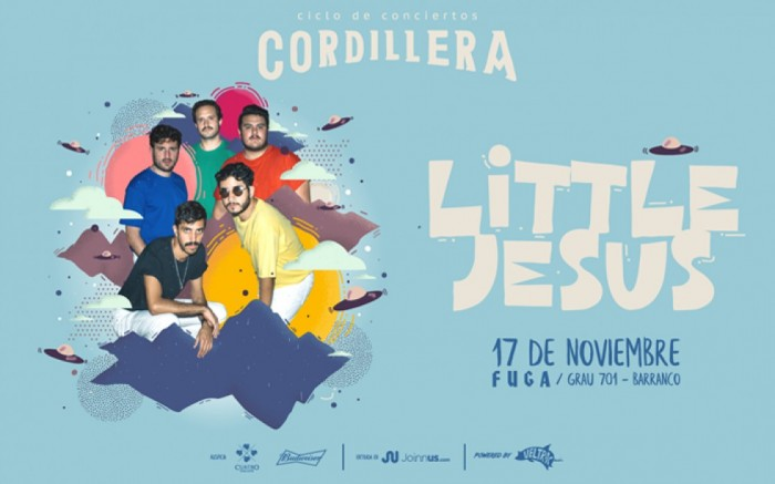 Ciclo Cordillera presenta: Little Jesus en Lima / Entretenimiento / Joinnus