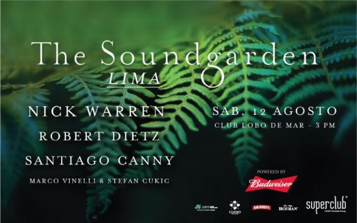 The Soundgarden en Lima /  / Joinnus