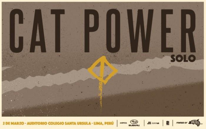 CAT POWER EN LIMA ::. /  / Joinnus