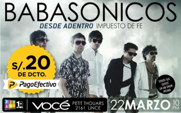 Babasonicos en Lima / Entretenimiento / Joinnus