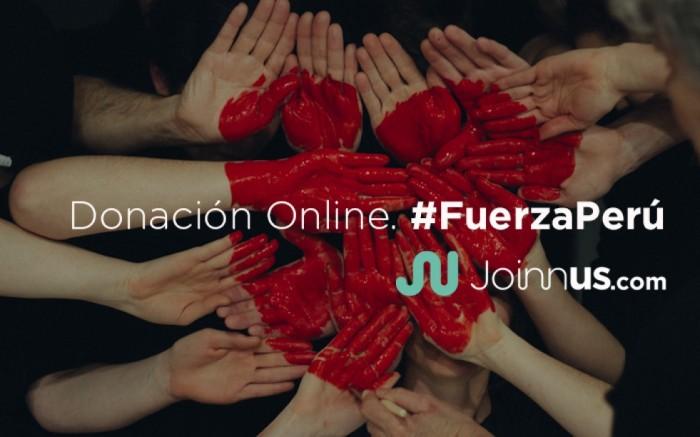 #UnaSolaFuerza | Donación Online. #FuerzaPerú / Ayuda social / Joinnus