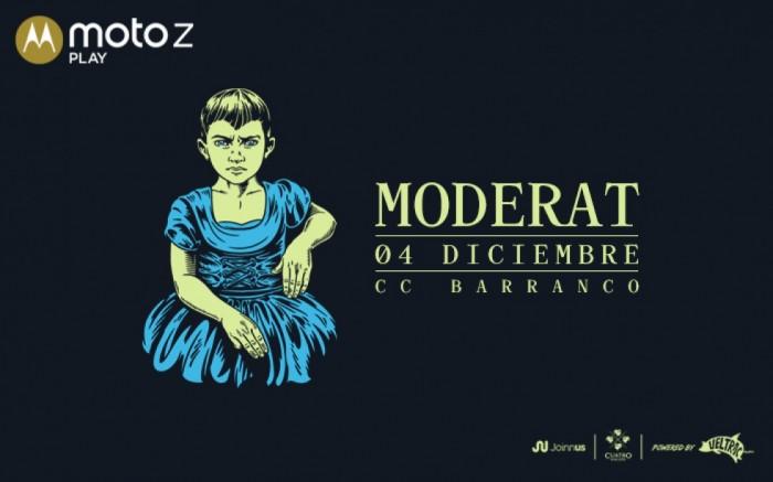 Moto Z Play presenta: Moderat en Lima /  / Joinnus
