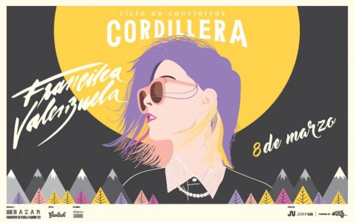 Ciclo Cordillera presenta: Francisca Valenzuela /  / Joinnus