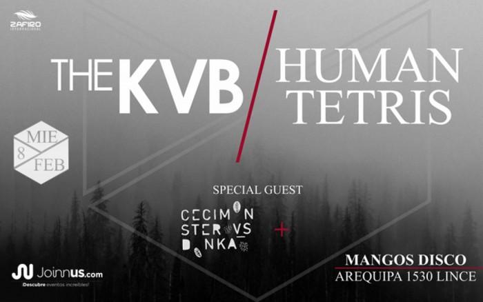 Human Tetris & The KVB / Entretenimiento / Joinnus