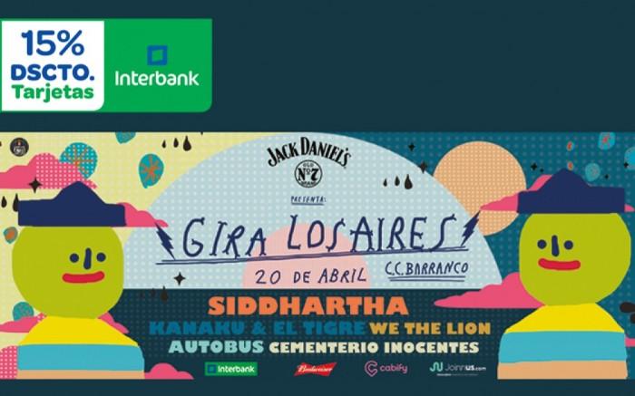 Gira Los Aires Vol.I // Siddhartha en Lima / Entretenimiento / Joinnus
