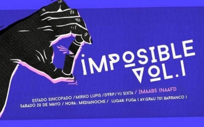IMPOSIBLE Vol. 1 Imaabs (NAAFI) / Entretenimiento / Joinnus