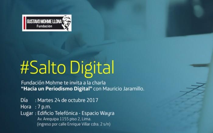 Charla: Hacia un periodismo digital con Mauricio Jaramillo / Charlas y conferencias / Joinnus