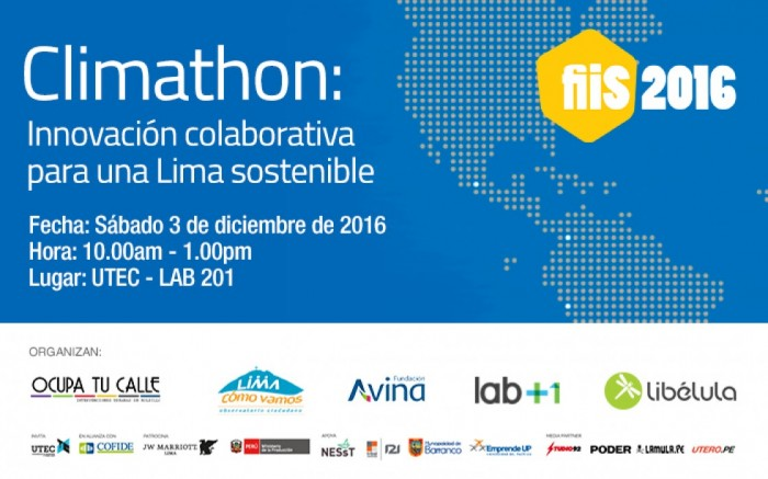 Climathon: Innovación colaborativa para una Lima Sostenible /  / Joinnus
