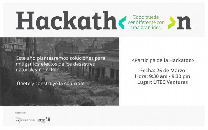 Hackea El Niño @ Construye Soluciones / Tecnología / Joinnus