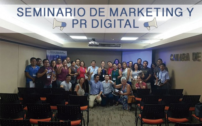 Seminario de Marketing y PR Digital / Charlas y conferencias / Joinnus