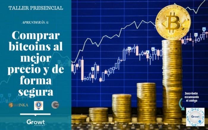 Workshop: Compra Bitcoins al mejor precio y de forma segura /  / Joinnus