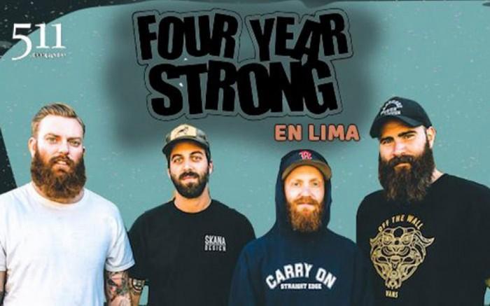 Four Year Strong en Lima /  / Joinnus
