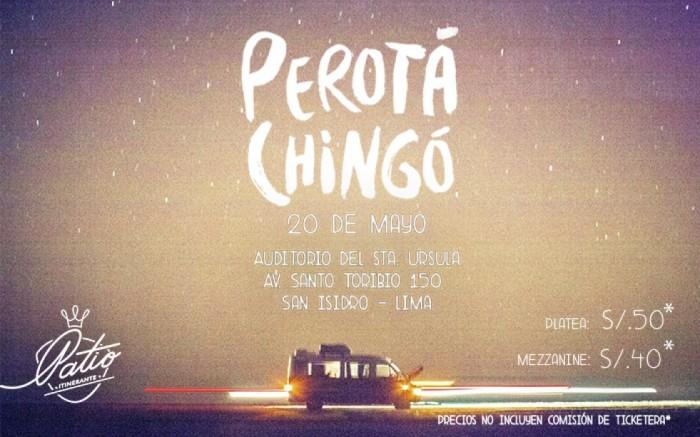Perotá Chingó en Lima, mayo/2016 /  / Joinnus