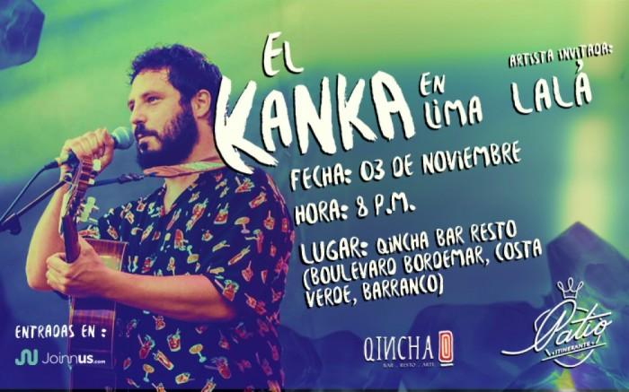 El Kanka en Lima + La Lá / Entretenimiento / Joinnus