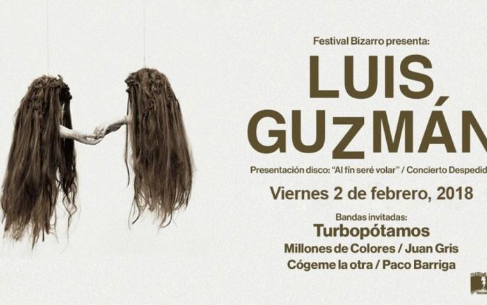 Luis Guzmán*Concierto despedida y lanzamiento de 2do disco /  / Joinnus