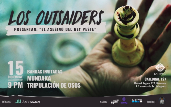 Los Outsaiders presentan: 'El Asesino del Rey Peste' / Conciertos / Joinnus