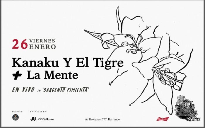 Kanaku Y El Tigre en Sargento Pimienta! /  / Joinnus
