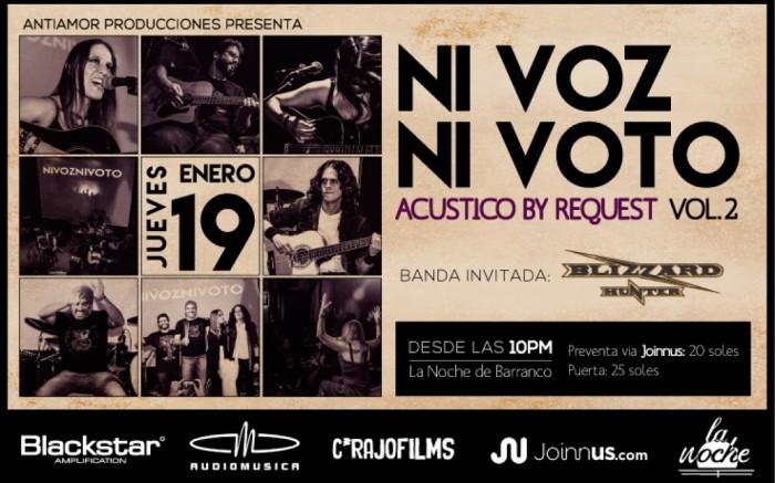Acústico by Request Vol. 2 / Entretenimiento / Joinnus