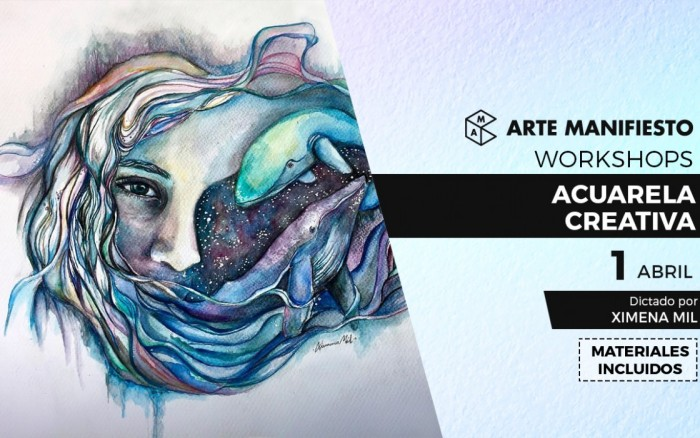 Workshop: Acuarela Creativa con Ximena Mil /  / Joinnus