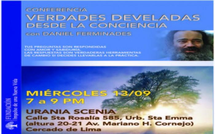 Verdades Develadas desde la Conciencia - Lima 2017 - Perú. /  / Joinnus