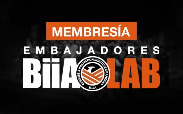 Membresía embajadores BIIA LAB / Ayuda social / Joinnus