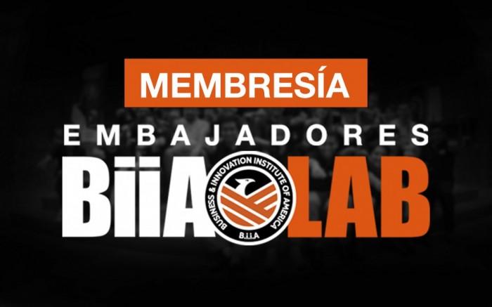 Matrículas BiiA Lab y Membresías Embajadores BiiA / Ayuda social / Joinnus