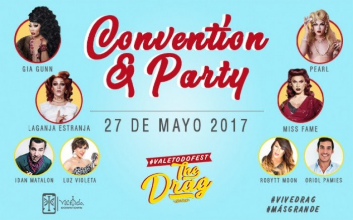ValetodoFest - The Drag Edition | CONVENTION + PARTY / Entretenimiento / Joinnus