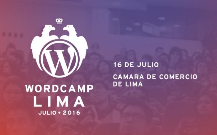 WordCamp Lima 2016 / Charlas y conferencias / Joinnus