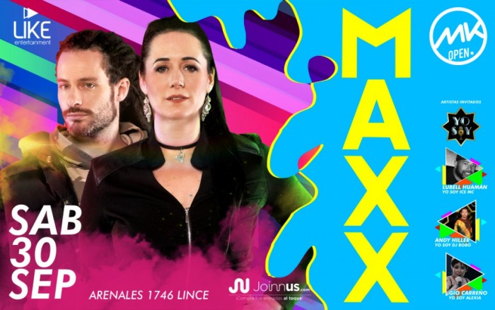 MAXX EN LIMA / Entretenimiento / Joinnus