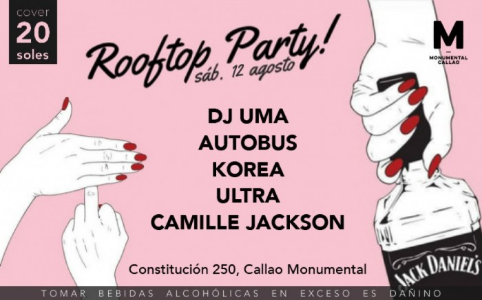 Rooftop Party / Arte y cultura / Joinnus