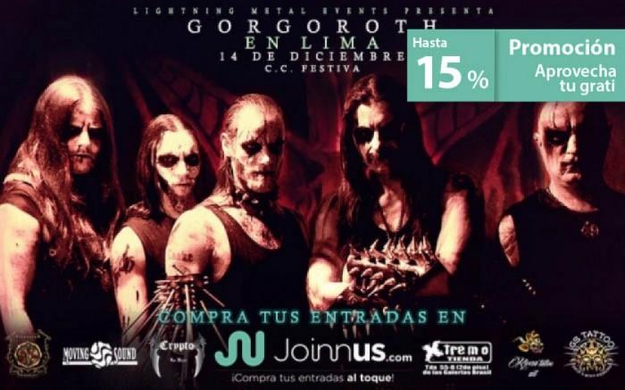 Gorgoroth en Lima /  / Joinnus