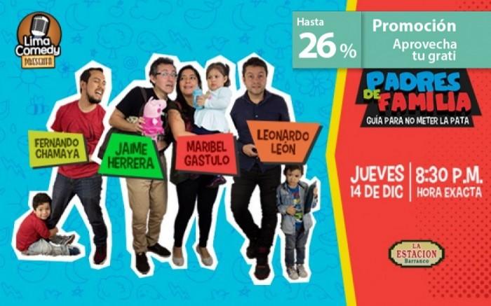 Stand-Up Padres de Familia: Guía para no meter la pata / Entretenimiento / Joinnus