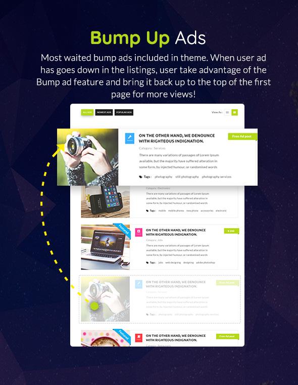 Classiera – Classified Ads WordPress Theme by JoinWebs | ThemeForest