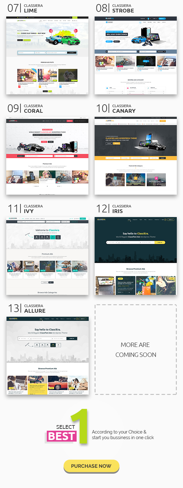 Classiera Classified WordPress Theme
