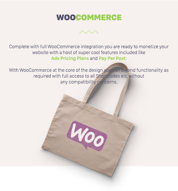 Classify with woocommerce