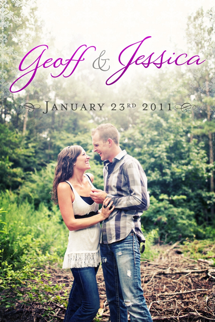 Geoff & Jessica Wedding Invitations & Programs