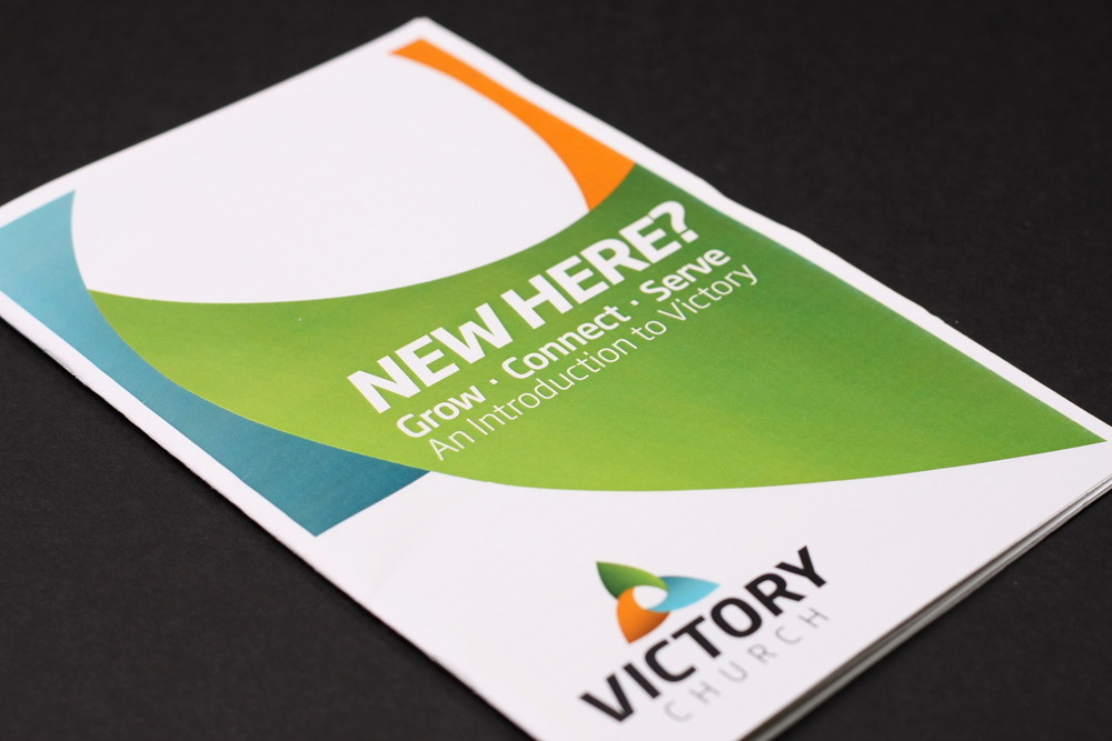 Victory Church - New Here Brochure