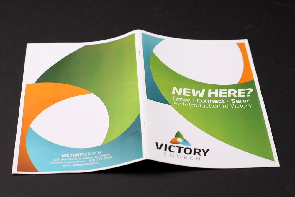 victory church new here brochure portfolio jon horton