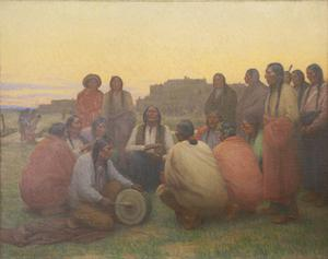 The Chant; Taos Southwest Pueblo; An Indian Chant