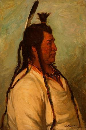 Chief Elk Horn