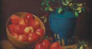 [Still Life]; Apples